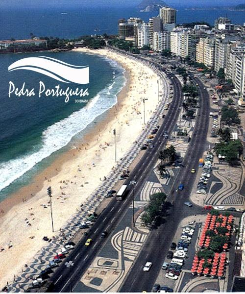 Avenida Atlantica RJ e a Pedra Portuguesa