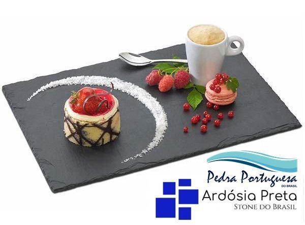 Pratos de Ardosia