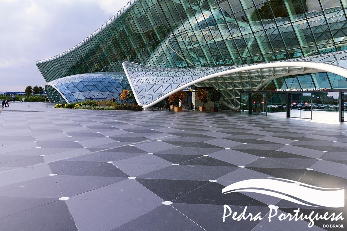 Piso Aeroporto Azerbaijao