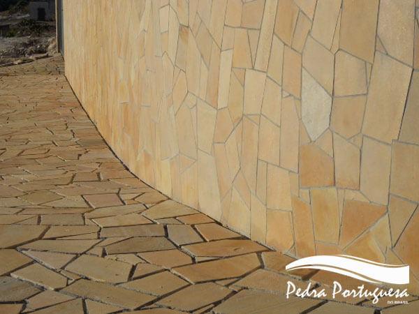 Pedra Sao Tome Piso - Parede - Cacos