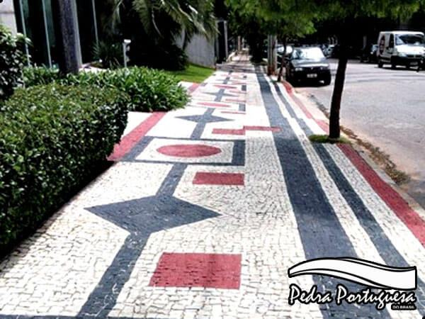 Cores Mosaicos de Pedra Portuguesa
