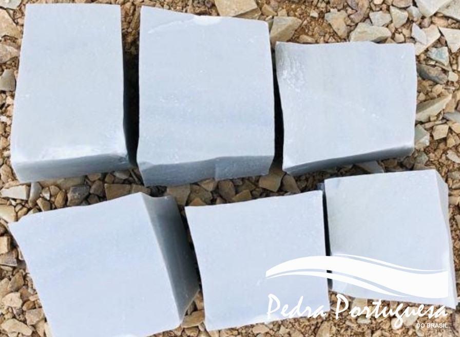 1 Pedra Portuguesa Branca