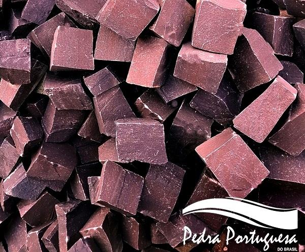 1 Pedra Portuguesa Vermelha