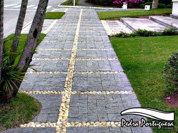 Pedra Miracema Calçada