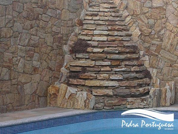 Pedra Madeira Várias Cores